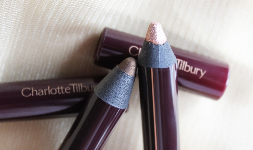 Charlotte Tilbury's Colour Chameleons in Golden Quartz (left) and Champagne Diamonds (right).