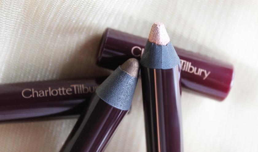 Charlotte Tilbury's Colour Chameleons in Golden Quartz (left) and Champagne Diamonds (right).